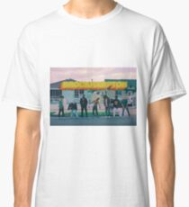 Camiseta clásica Calor de saturación de Brockhampton