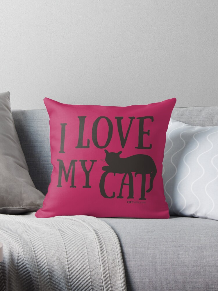 I Love My Cat Gift Ideas by Dogvills