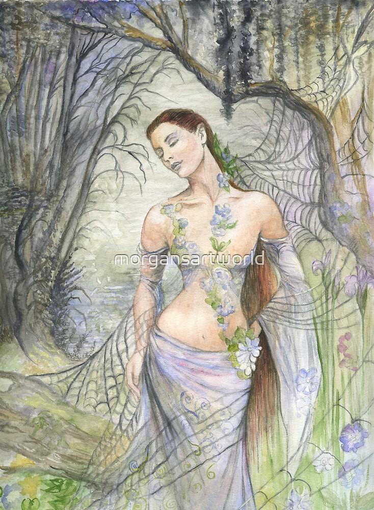 Mistress of the Web by morgansartworld