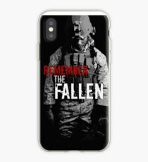 Remember the Fallen (RED) iPhone Case