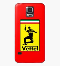 Vettel-Ferrari logo design Case/Skin for Samsung Galaxy