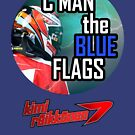 Kimi Raikkonen - Blue Flags by evenstarsaima