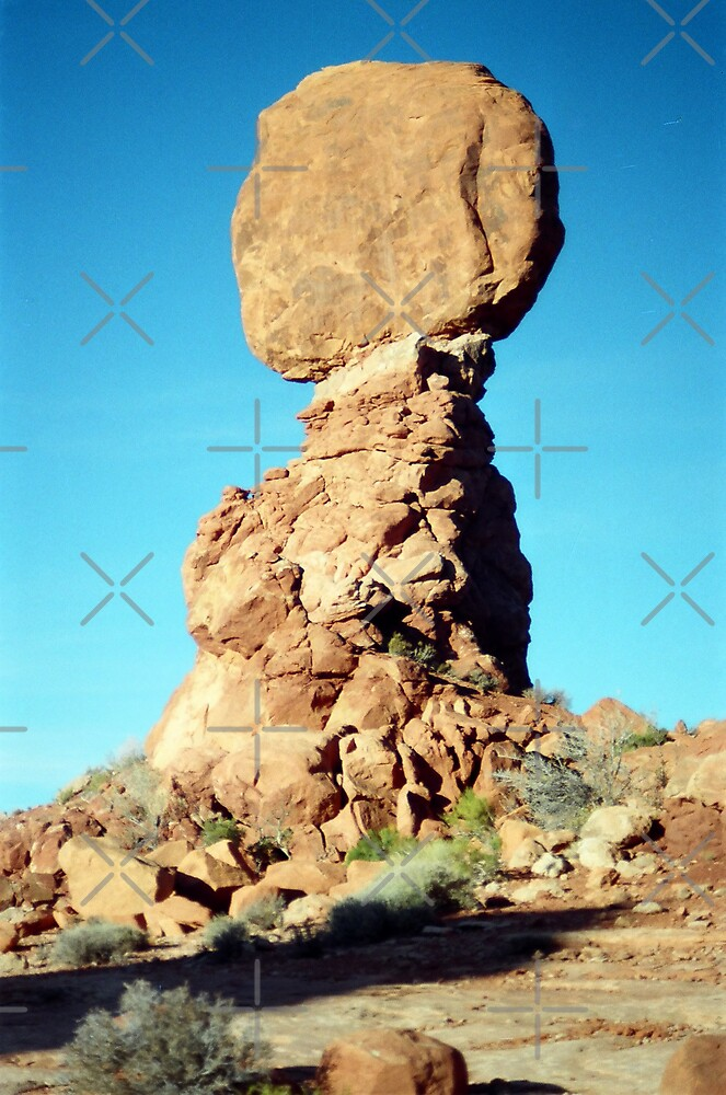 Balancing Rock, Utah by Kymbo