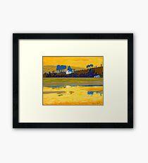 Inchadoney Sunset, Cork, Ireland Framed Print