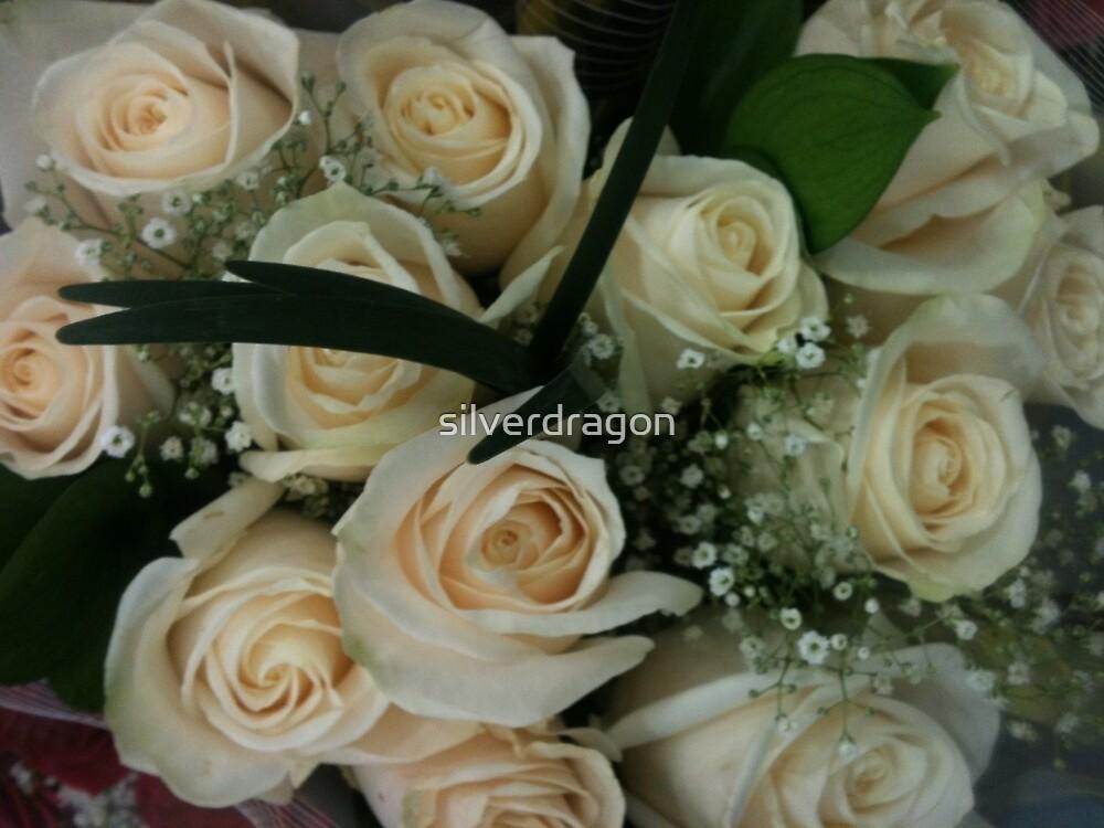 White Rose Bouquet by silverdragon