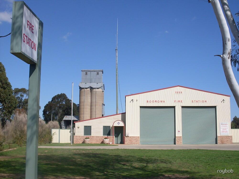 Boorowa Fire Station 232 by roybob