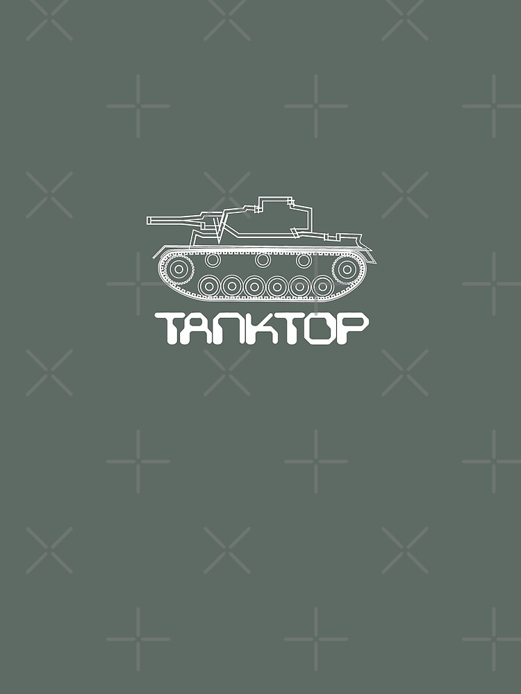 military tank silhouette funshirt for airsoft, paintball, gotcha and lasertag by cglightNing