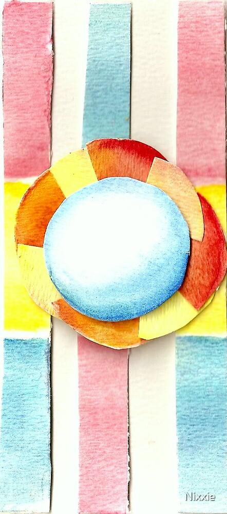 Watercolor in Abstract by Nixxie