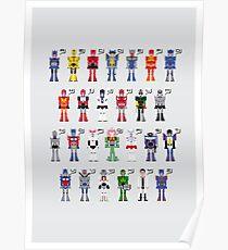 Transformers Alphabet Poster