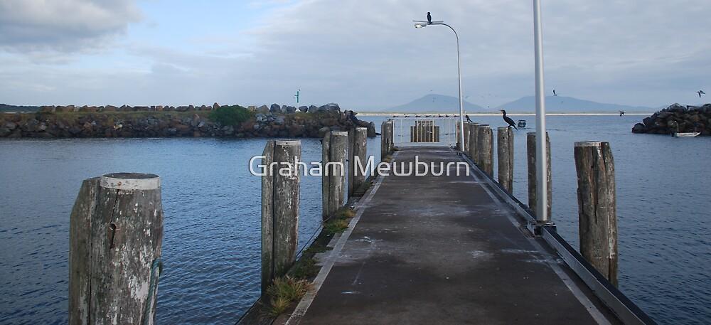 Crowdy Head Harbour Jetty by Graham Mewburn