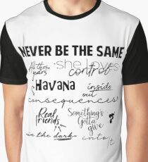 Camila Canciones Graphic T-Shirt