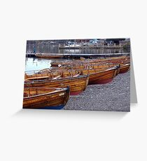 Boats on Windermere Greeting Card