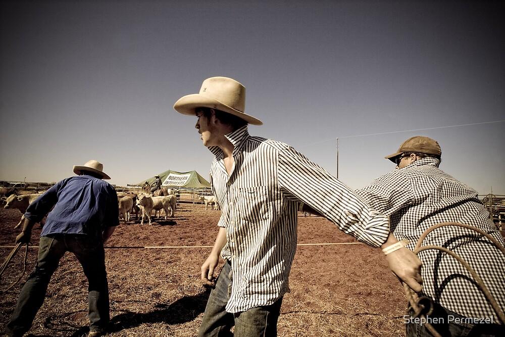 Anticipation - Marla, South Australia by Stephen Permezel
