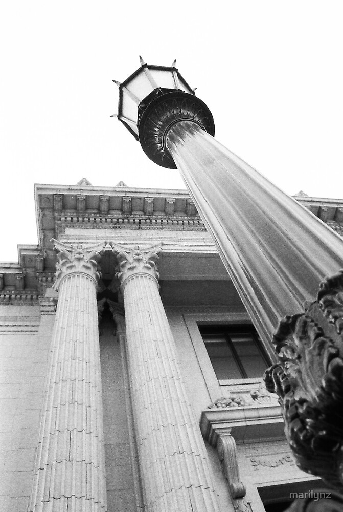 Library Columns by marilynz