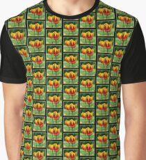 Yellow red tulips Graphic T-Shirt