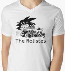 The Rolistes Podcast - Afternoon Tea Goku(Mono) V-Neck T-Shirt