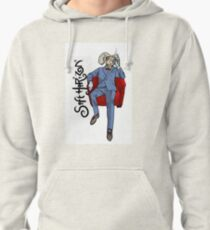 Soft Horizon Relaxed God Pullover Hoodie