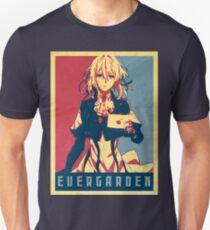 Violet Evergarden - Political Anime Poster Shirt Unisex T-Shirt