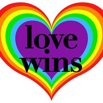 Love Wins - LGBT+ Pride by hellafandom