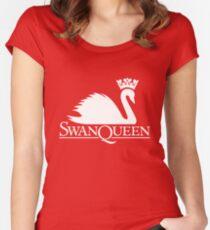 Swan Queen Women's Fitted Scoop T-Shirt