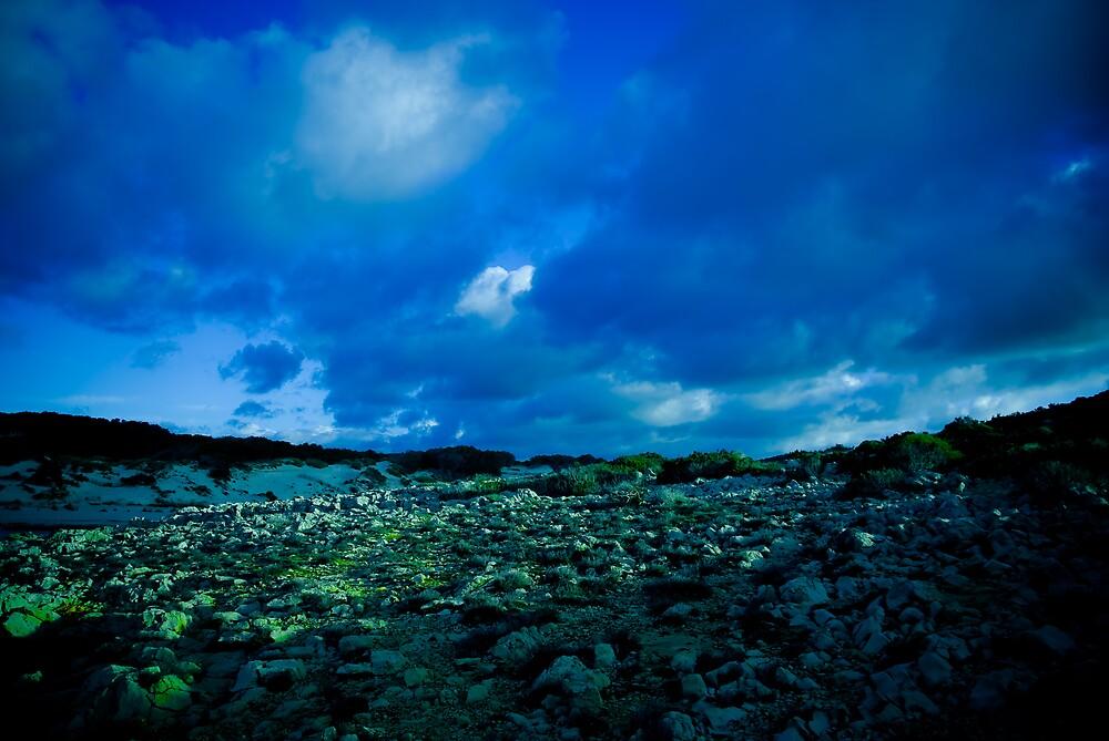 blue mountain by gorka arcocha