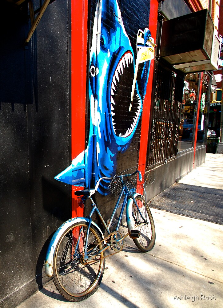 Shark on Spring St. by Ashleigh Robb