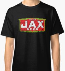 Jax Bier-Shirt aufgegeben Biermarke (verwitterte Version) Classic T-Shirt