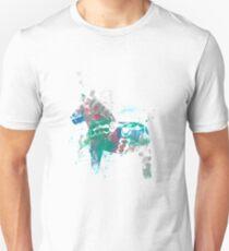 Verträumtes Dalapferd Unisex T-Shirt