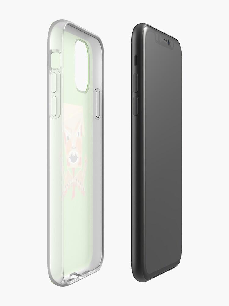 Coque iPhone «Le diable», par JLHDesign