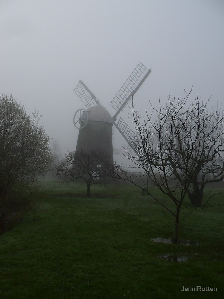 Prescott Farm Windmill by JenniRotten