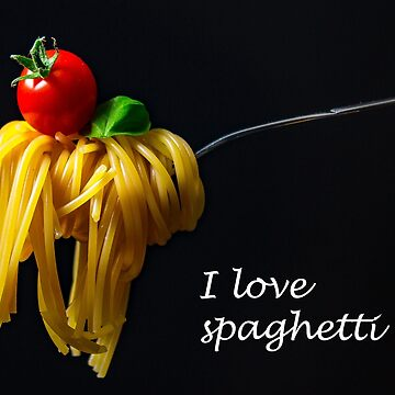 I love spaghetti by jonasscorpio