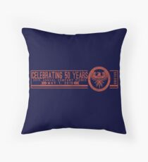 Celebrating 50 Years Throw Pillow