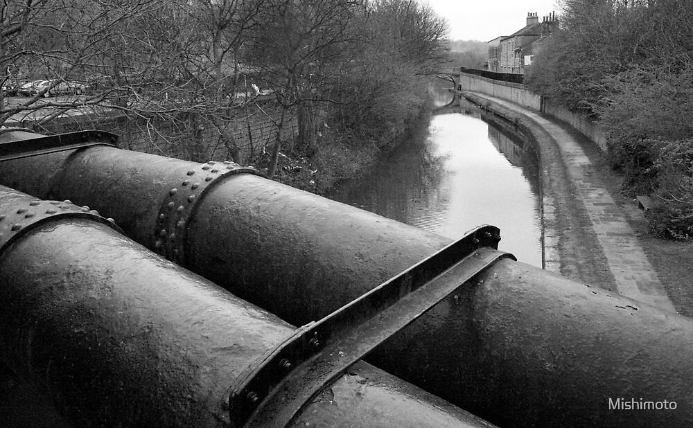 Leeds Canal, Leeds England by Mishimoto