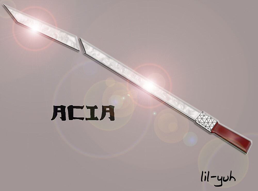 a sword i love this sword ACIA by lil-yuh