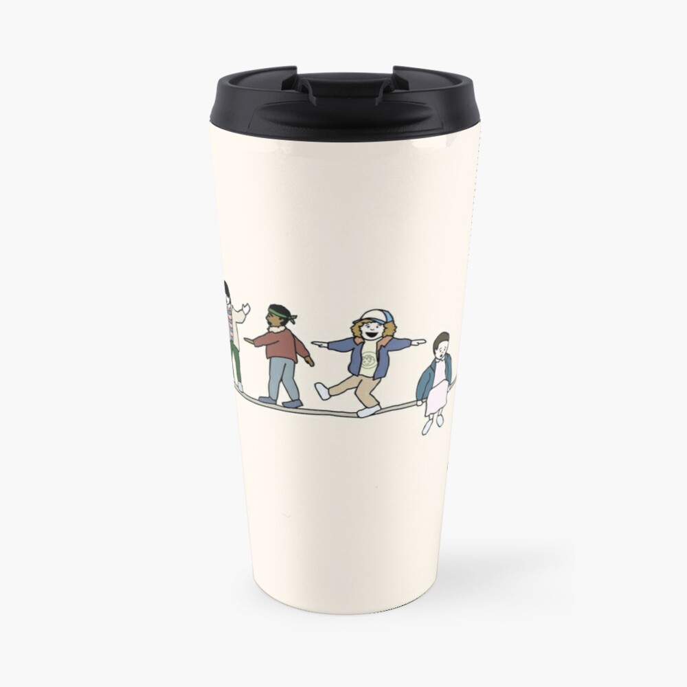 Stranger Things: The Acrobats and the Fleas Travel Mug