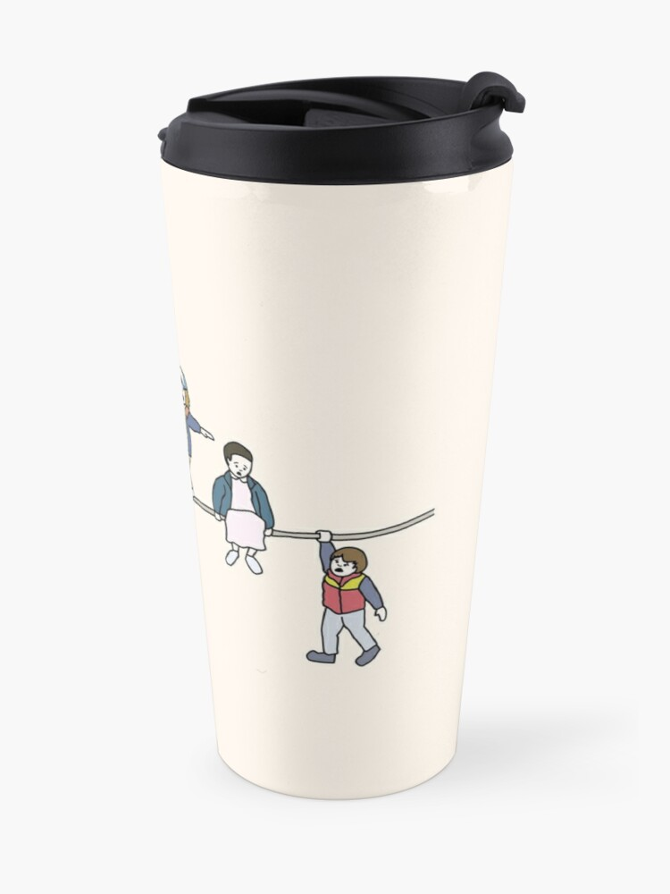 Alternate view of Stranger Things: The Acrobats and the Fleas Travel Mug