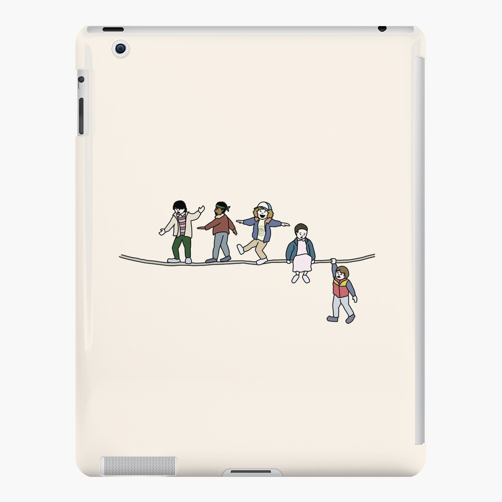 Stranger Things: The Acrobats and the Fleas iPad Case & Skin