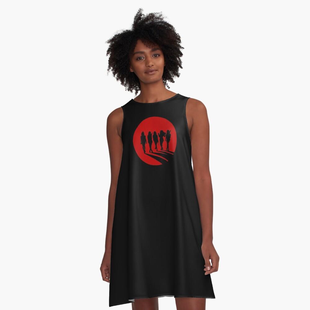 Bad Boy Silhouette A-Line Dress