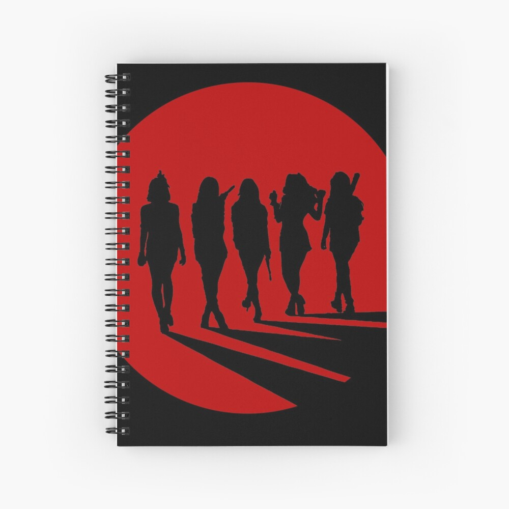 Bad Boy Silhouette Spiral Notebook
