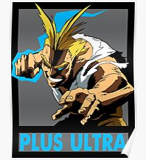 All Might Plus Ultra! Poster