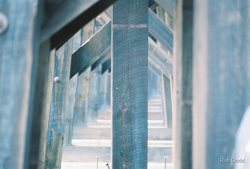 Under the Train Tracks by Rob Dodd