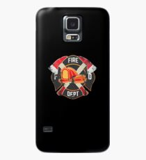 Firefighter Gift Fireman Fire Rescue Department EMS Firefighters Case/Skin for Samsung Galaxy