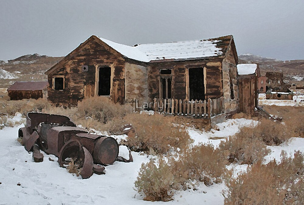 Old Cabin by LarryH