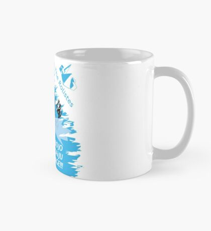 The Rolistes Podcast - Kaiju Bojo (Blue Splash) Mug