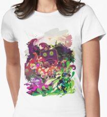 Splatoon 2 Hero Mode Poster Design Women's Fitted T-Shirt