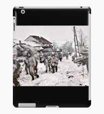 Recon Soldiers in the Snow iPad Case/Skin