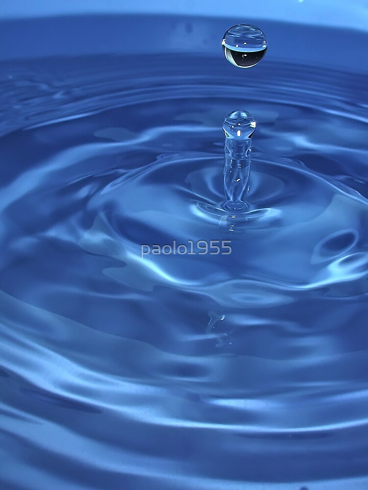Blue Drop by paolo1955