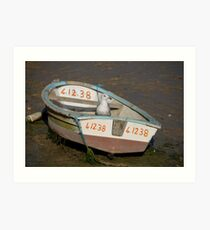 OK. So who Stole my Outboard! Art Print