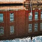 Maine Mill Reflections by Richard Bean