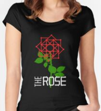 THE ROSE - LOGO Women's Fitted Scoop T-Shirt